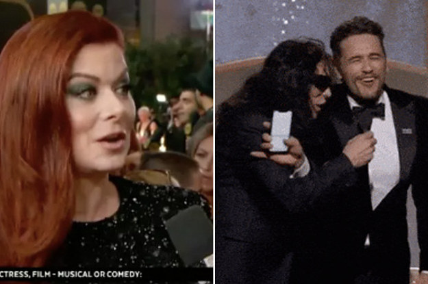 14 Insanely Awkward Moments From The Golden Globes