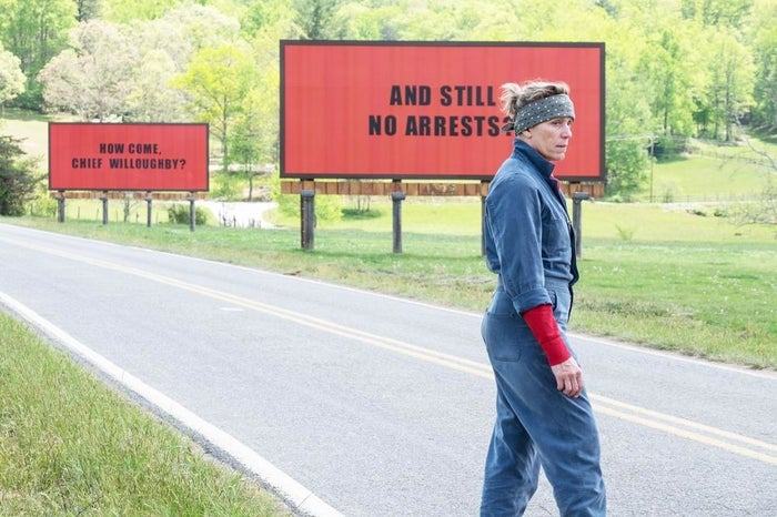 Winner: Three Billboards Outside Ebbing, MissouriCall Me by Your NameDunkirkThe PostThe Shape of Water