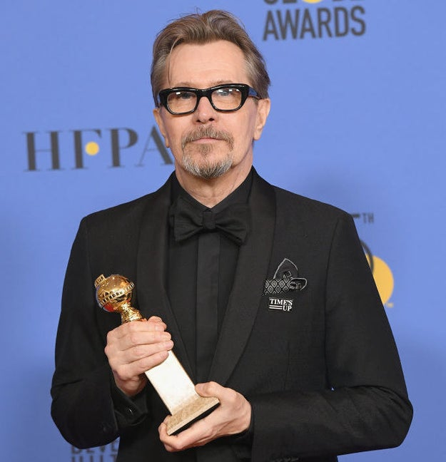 Yes, it's true, Timothée Chalamet didn't win the Golden Globe for Best Actor In A Motion Picture (Drama) for his performance in Call Me by Your Name. Gary Oldman won for Darkest Hour.