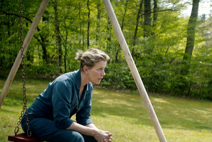 Winner: Frances McDormand, Three Billboards Outside Ebbing, MissouriJessica Chastain, Molly's GameSally Hawkins, The Shape of WaterMeryl Streep, The PostMichelle Williams, All the Money in the World