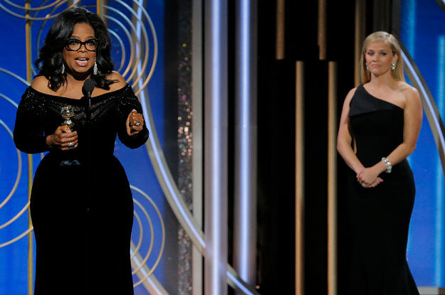 Here Are The Big #MeToo And Time's Up Moments That Dominated The Golden Globes