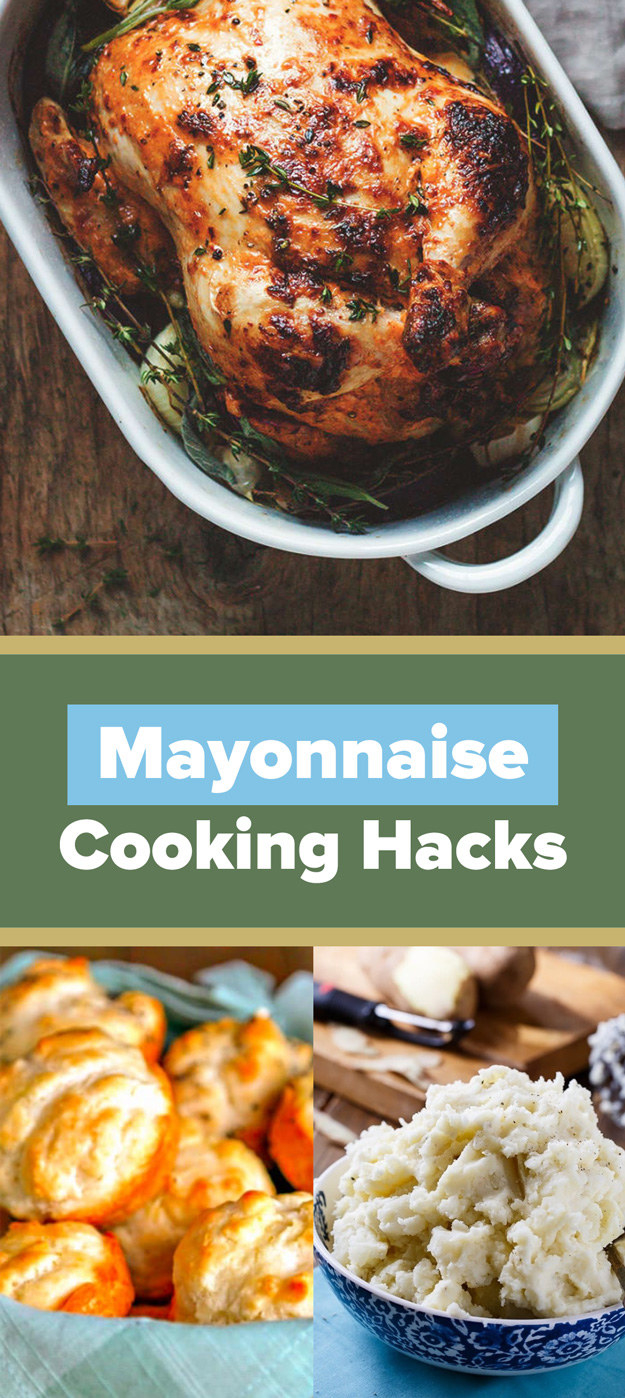 12 Surprising Cooking Hacks Using Mayonnaise