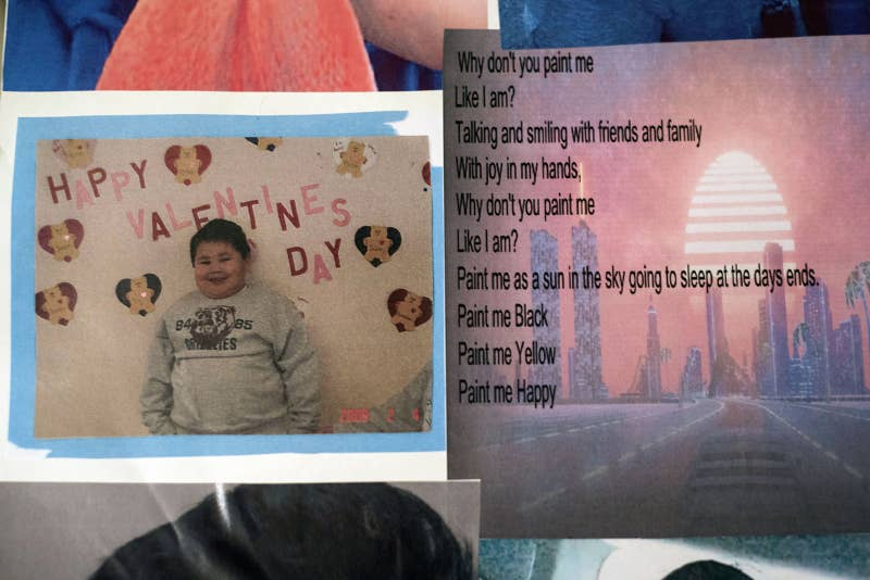 Pictures and a poem written by Jason Pero. Jason, 14, was shot and killed by Ashland County Sheriff's Deputy Brock Mrdjenovich on Nov. 8, 2017.