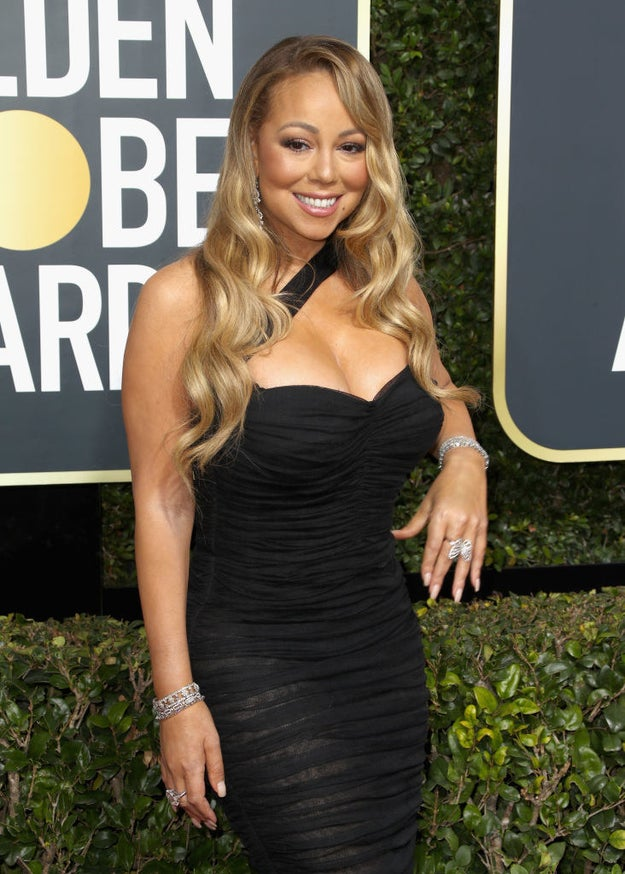 Mariah looking happy and healthy in 2018, yes please.