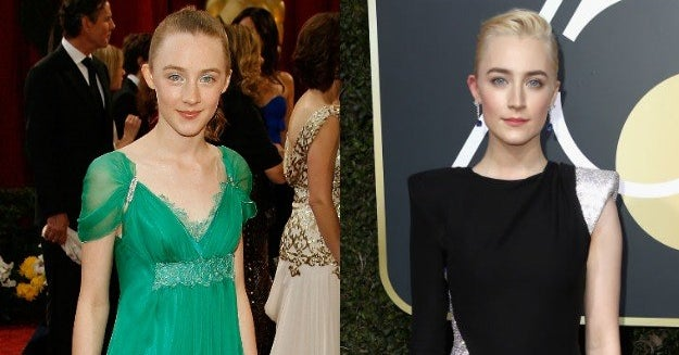 14 Side-By-Sides Of Golden Globe Winners Killing It On The Red Carpet