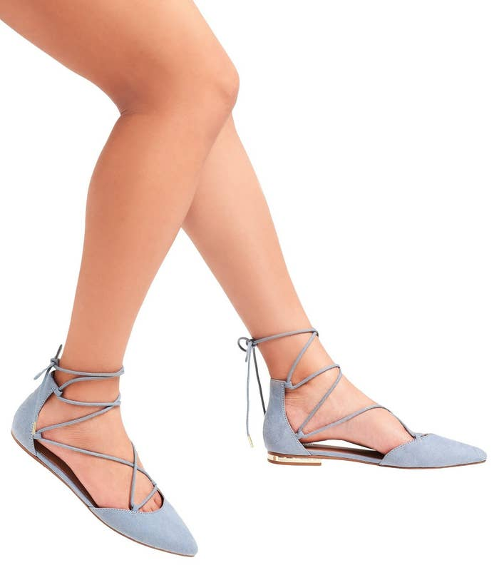 """Promising review: """"Love these shoes! They're so comfortable!!! I have them in black and nude and get compliments on them every time I wear them."""" —AwhitePrice: $17.48 (originally $24.99, available in sizes 5.5–11 and in three colors)"""