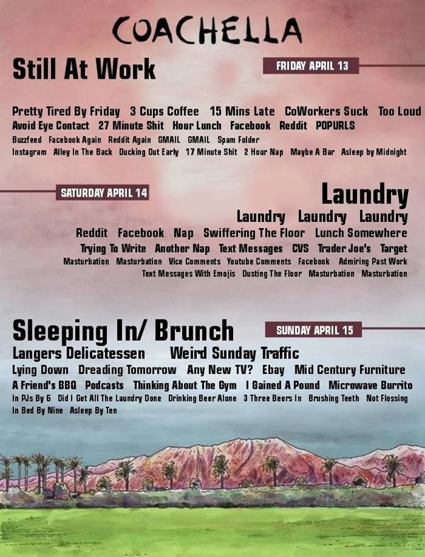Coachella for people not going to Coachella: