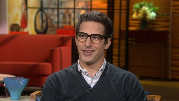 I mean, Andy Samberg, come the eff on.