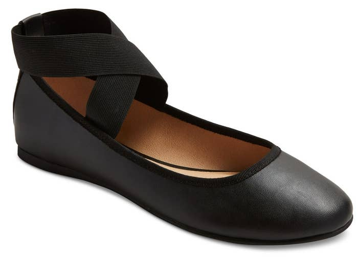 b7c56876fb2b Ankle wrap flats that demand to be enrolled in dance lessons. They are ballet  flats