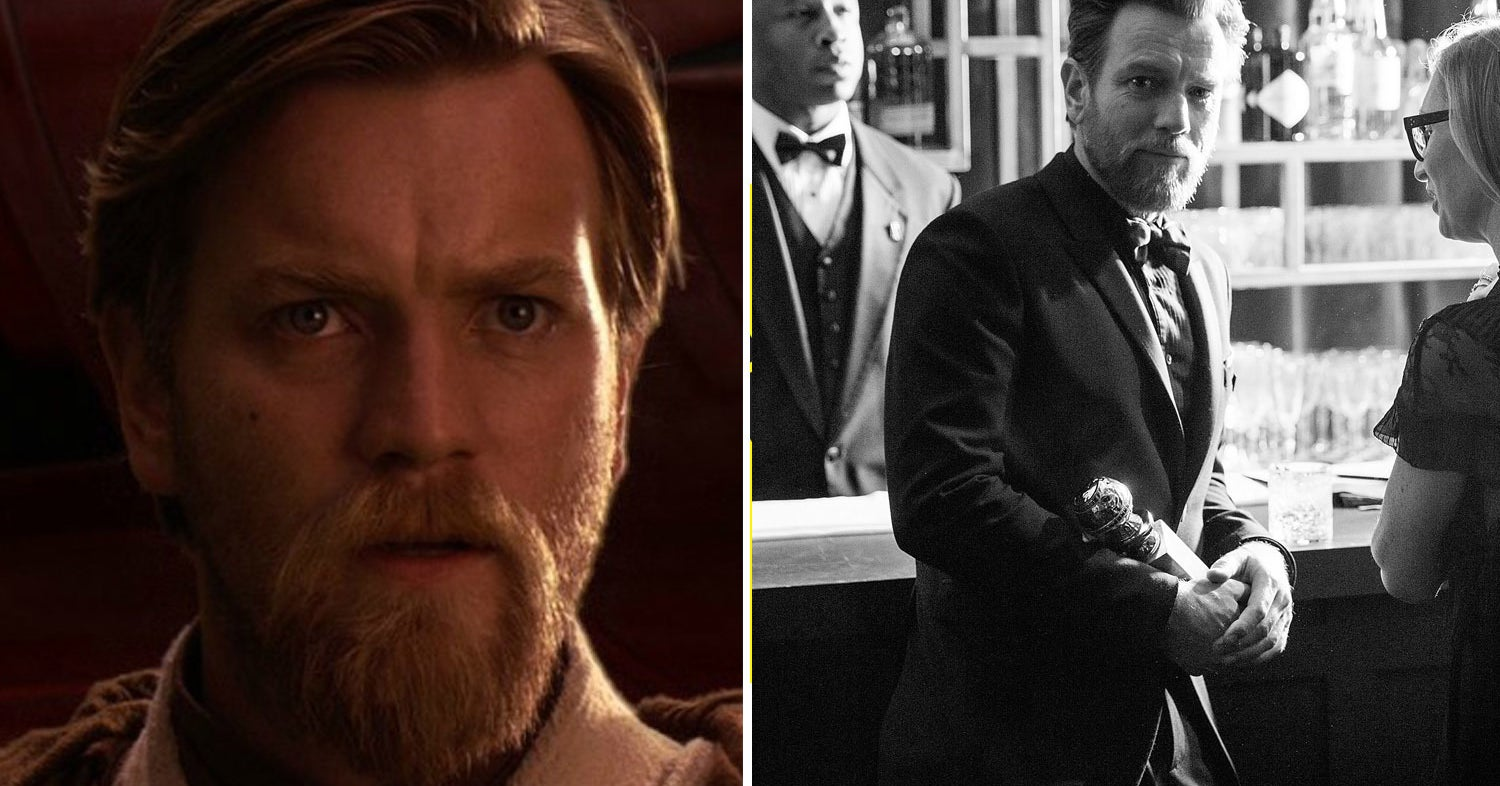 Ewan McGregor Showed Up To The Golden Globes Looking Like Obi-Wan And People Are Shook