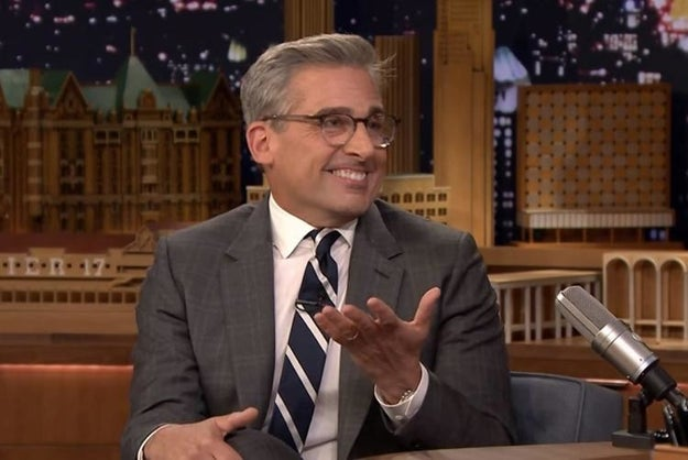 What would Steve Carell's new ~silver fox~ look be without his killer specs?