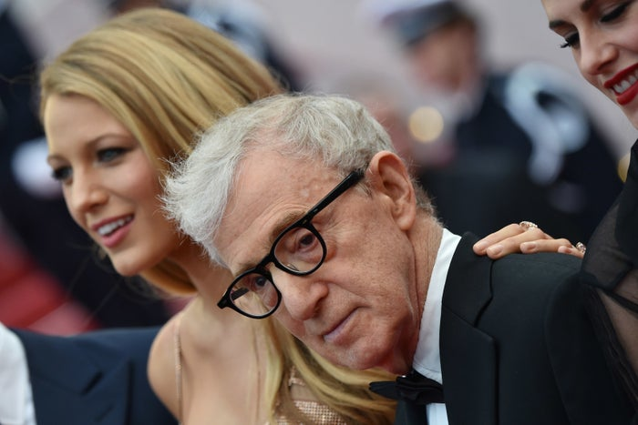 Blake Lively and Woody Allen at Cannes in 2016.