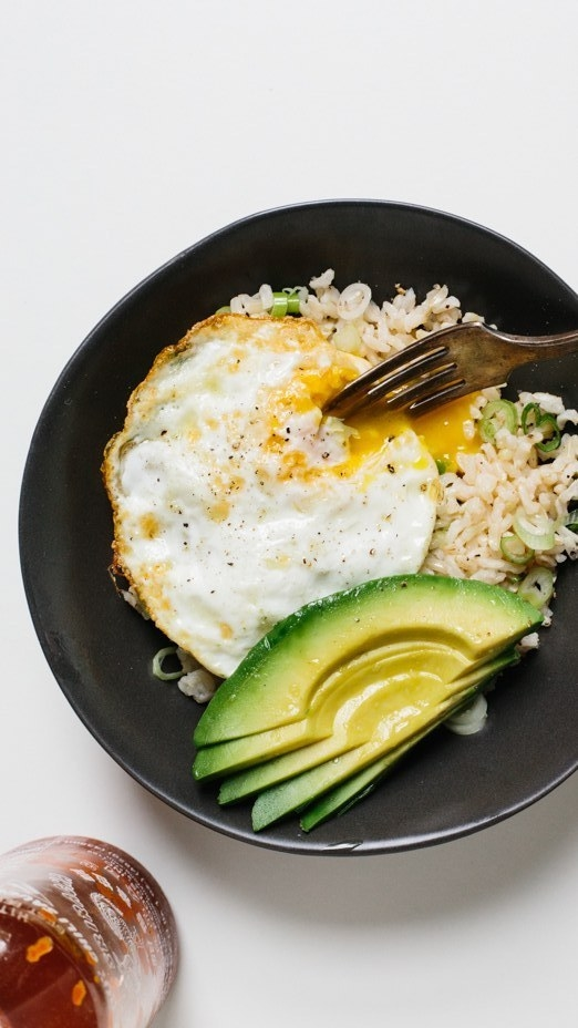 Fried Rice with Crispy Egg