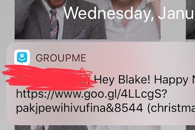 A Bunch Of People Say They Got Spam Messages On GroupMe
