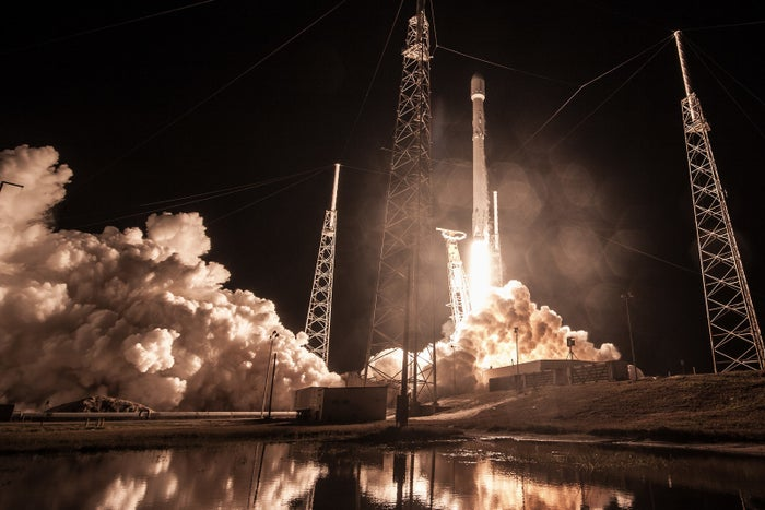 Zuma mission launch on Jan. 7 in Cape Canaveral, Florida.