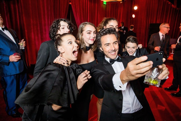 In fact, the Stranger Things cast seemed to be having an absolute ball.