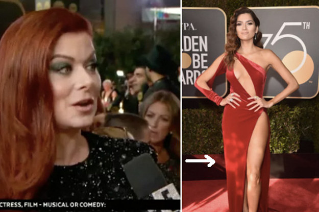 14 Suuuuper Awkward Moments From The Golden Globes