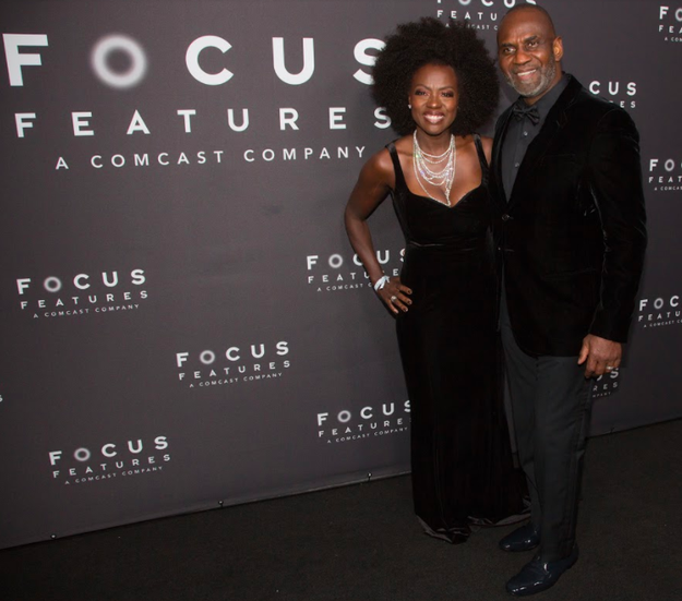 Viola Davis, looking like an absolute queen, brought her husband Julius Tennon to the afterparty.