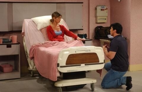 When Rachel assumed Joey was proposing to her in the hospital.