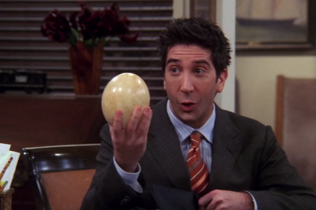 When the gang would make fun of Ross's career any chance they got.