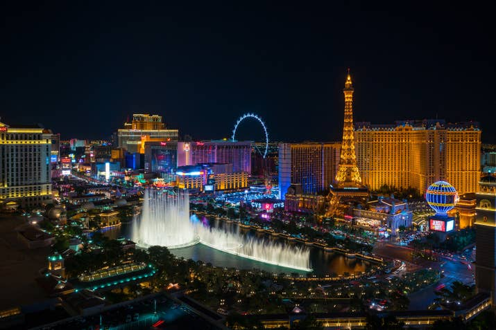 This resort city is known for its opulent hotels, fabulous dining scene, vibrant strip, and of course, its never-ending nightlife. Whether you want to hear Calvin Harris spin tracks at a night club, catch a Cirque du Soleil show, throw craps at the casino, eat at fine restaurants owned by celebrity chefs, or just lay out by the pool, Vegas has something to offer just about everyone.