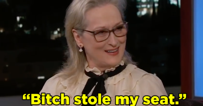 Here's Why Meryl Streep Sat On Mariah Carey's Lap At The Golden Globes