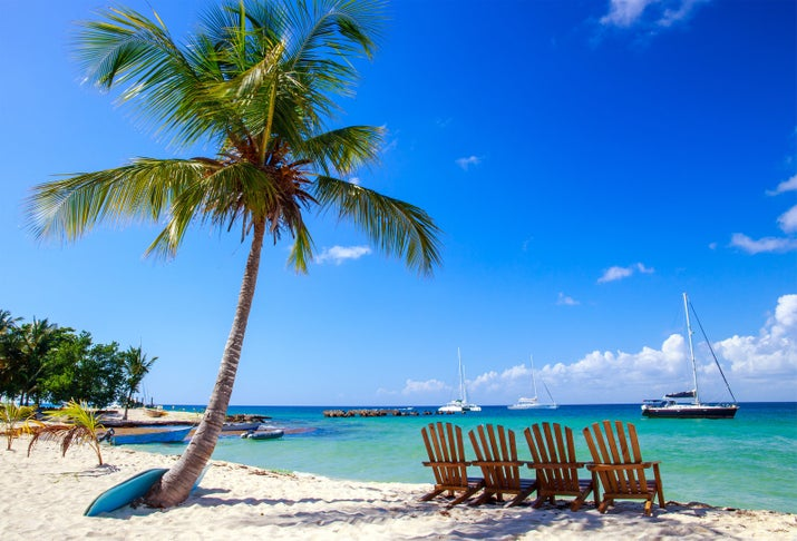 Need a break from reality? Book a trip to Punta Cana. In this tropical Caribbean paradise you'll find white sandy shores as soft as velvet, cerulean blue water, and palm trees swaying in the breeze. All-inclusive resorts, frequent direct flights, and activities for all ages make it easy to see why there's something for everyone.