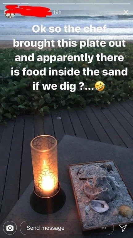Why use a sandbox when you can just use a plate?