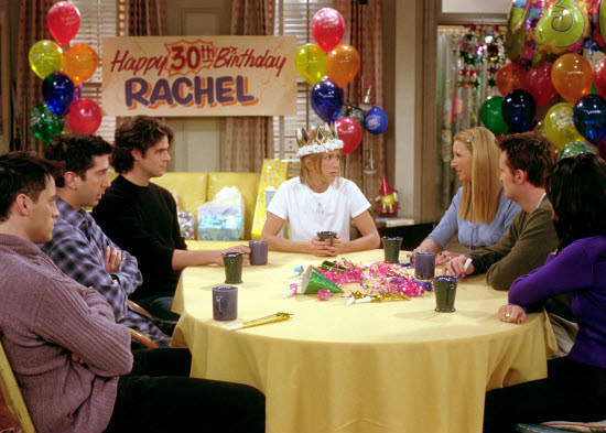 The fact that Rachel was the last one to turn 30, but Joey was apparently the youngest in Season 1.