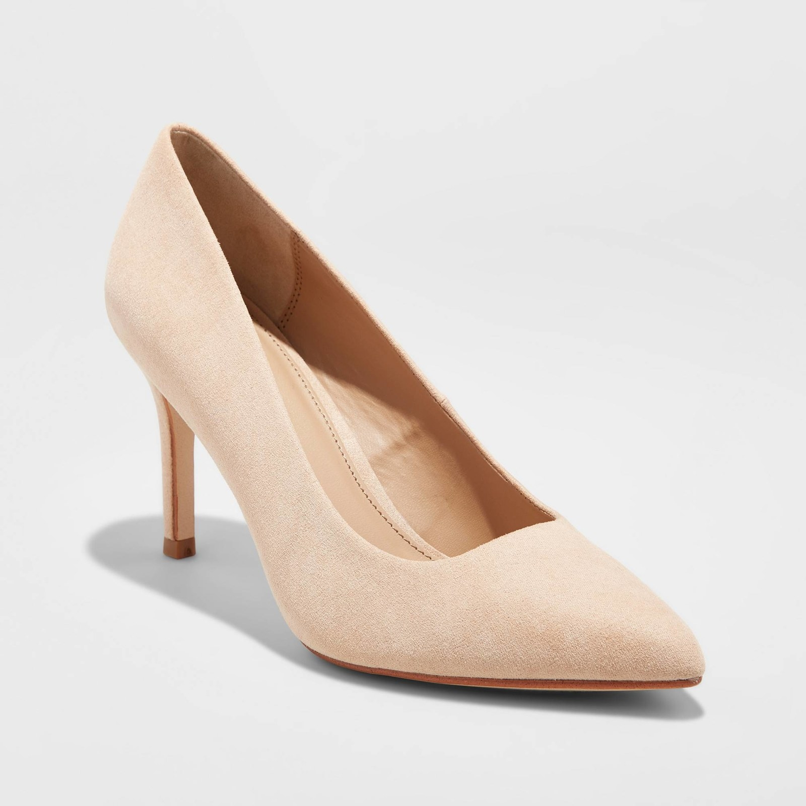 1e60486e226 Pointed toe pumps, available in six different shades of nude. These are a  must-have for every wardrobe.