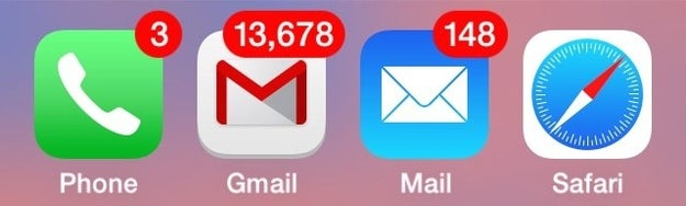 Keeping a billion emails in your inbox at a time, and not routinely cleaning it out.