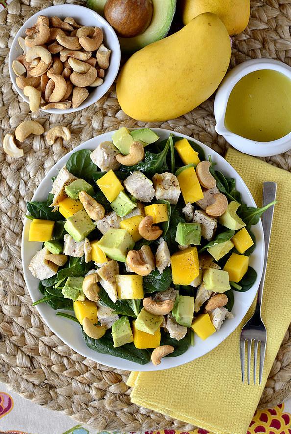 Cashew Chicken Mango Salad