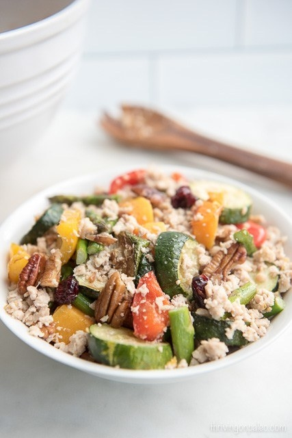 Roasted Vegetable Grain-Free Couscous