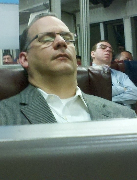 Some people find them on trains.