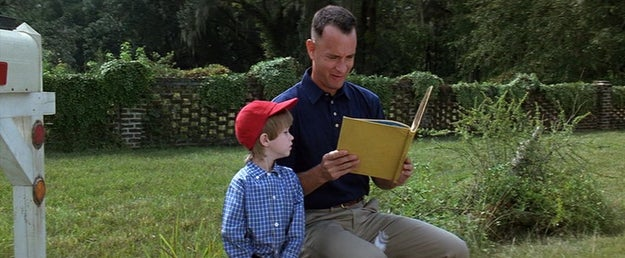 Forrest Gump and his son, Forrest Gump