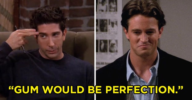 "Can You Match The Quote To The ""Friends"" Character?"