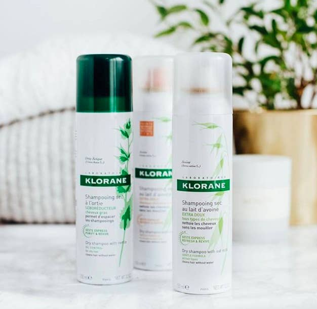 """Promising review: """"Best dry shampoo I've used! I have super oily hair and I am able to go three days without washing it when I use this dry shampoo."""" —Brittany Lane LittleGet it from Amazon for $20."""