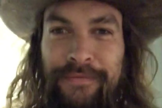Pray For Jason Momoa, Who Forgot To Bring A Coat To Canada
