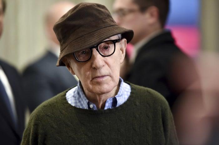 Woody Allen attends a screening in New York on Nov. 17, 2017.