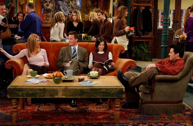 The fact that the gang had all of this free time to hang out at Central Perk.
