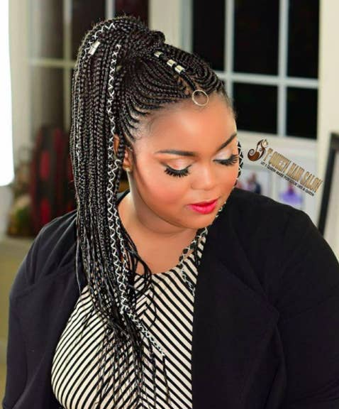 21 Stunning Photos Of The Fulani Braids Blac Chyna S Ex S Sister