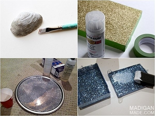 You could also use a spray-on sealant if you have it. See it here.
