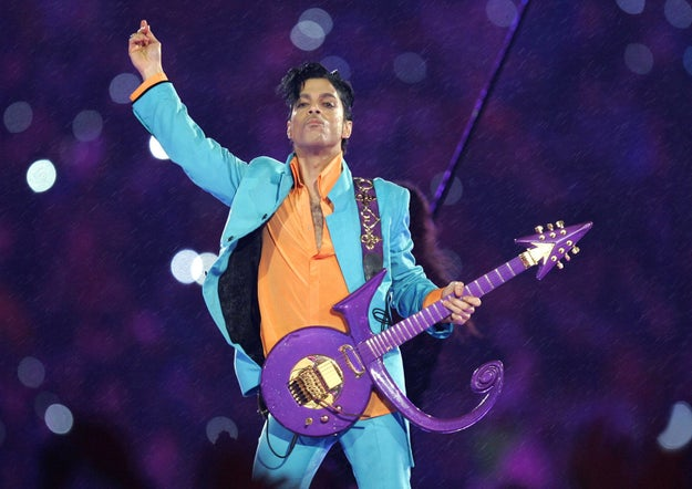 Feb. 4, 2007 — Prince performs at Super Bowl XLI in Miami
