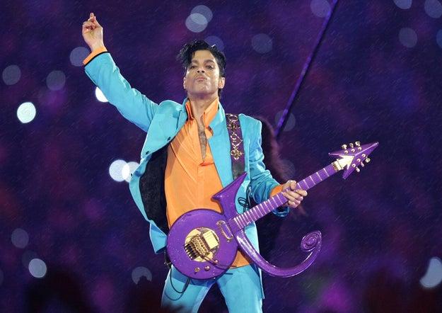 Feb. 4, 2007 — Prince performs at Super Bowl XLI in Miami