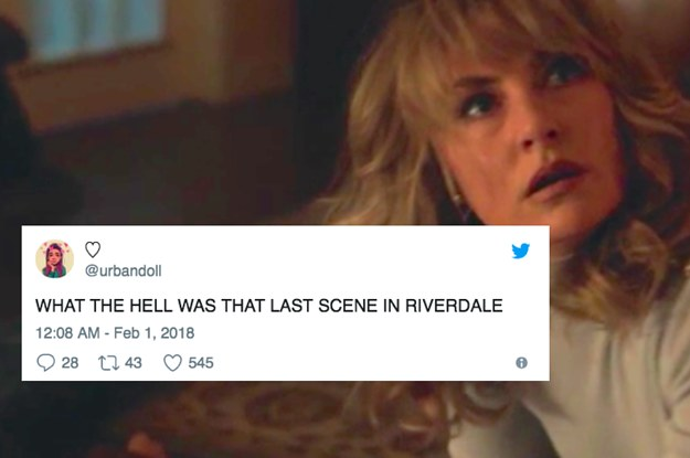 "21 Tweets For Everyone Still Freaking Out After Last Night's ""Riverdale"""