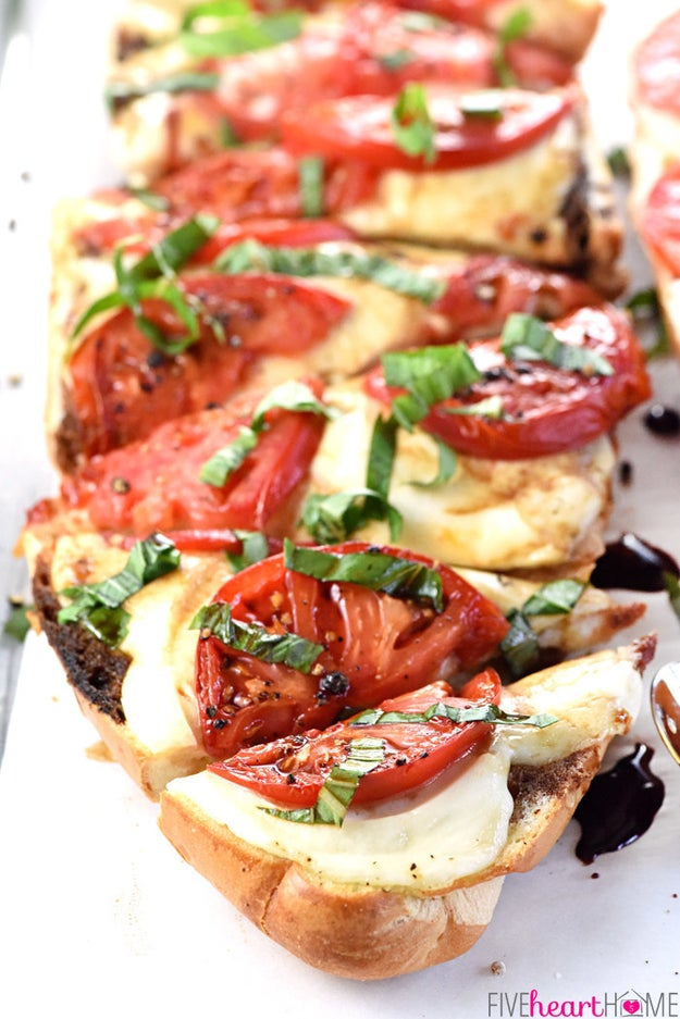 Caprese French Bread