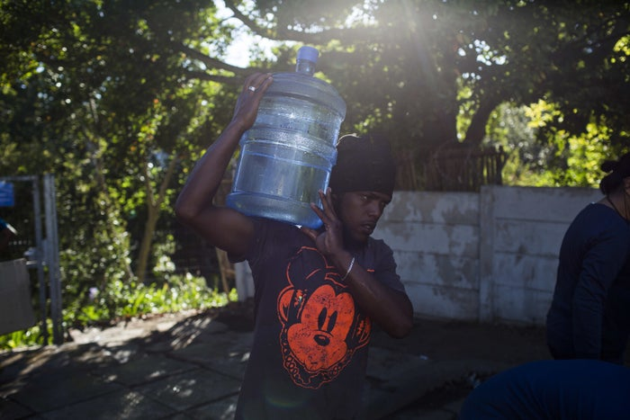 """Unless residents can limit their consumption, or the city gets a massive amount of rainfall within the next two months, the city of just over 4 million will become the first in the world to be completely drained of water. On Feb. 1, the South African city's government ordered residents not to use more than 13 gallons of water a day, a 9-gallon drop from its previous mandate. (For scale, people in the US use between 80 and 100 gallons of water a day.) The restrictions are part of its larger, desperate attempt to avoid """"Day Zero,"""" the ominous name given to the date that Cape Town is expected to be effectively waterless. Here's everything you need to know about Day Zero, and how people in the city are trying to avoid it."""