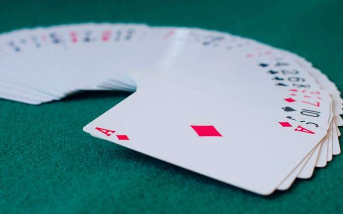 There are 8 x 1067 possible ways to shuffle a deck of cards — that means there are more ways to shuffle a deck than there are atoms on Earth. Most possible card sequences have never been shuffled before, so every time you play Go Fish, you're likely to make history.