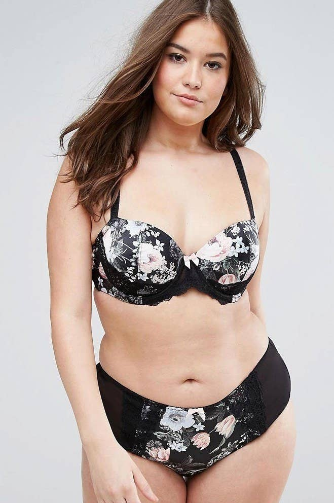 7080ec6411 A satin bra and brief set to add a touch of spring to your intimates  drawers. Sayonara