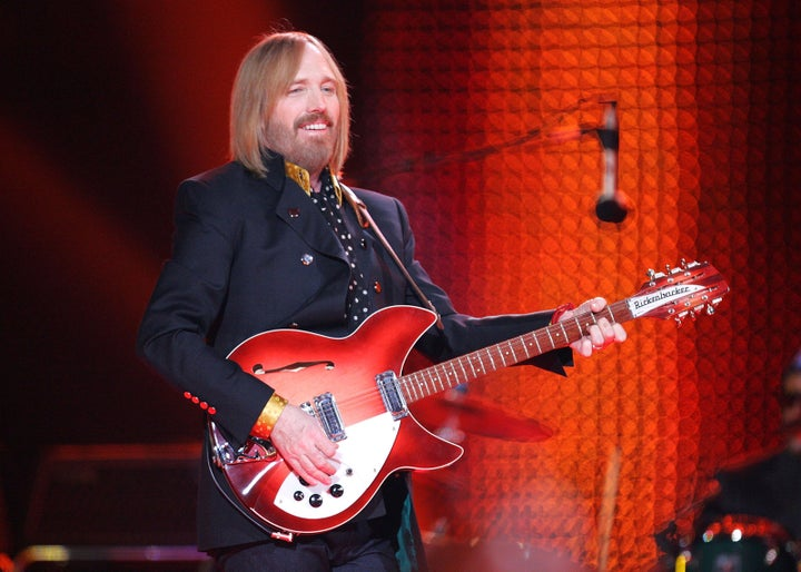 Feb. 3, 2008 — Tom Petty at Super Bowl XLII in Glendale, Arizona